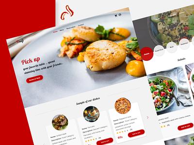 Trofi Resturant Website