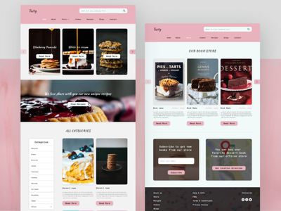 Desserts Recipes Website