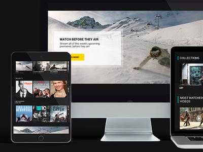 Film platform application web mobile design mobile app design uiux ux ui platform