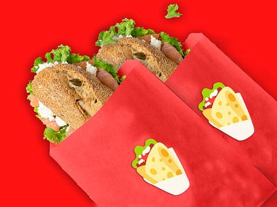 Brand identity for a sandwich bar graphic design graphics graphic illustration logo brand identity branding brand