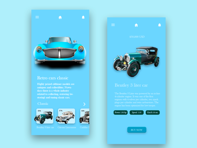 Rental Car digital art rental application graphic design graphic app design uiux design ux ui