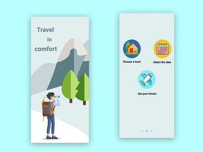Design and development of a cool application for a travel agency travel app ux design ui design ux ui app design travel