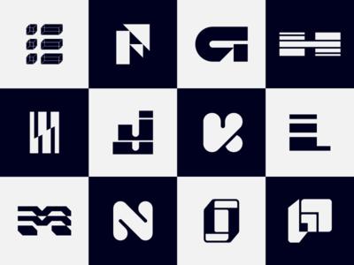 The Alphabet Series - E to P