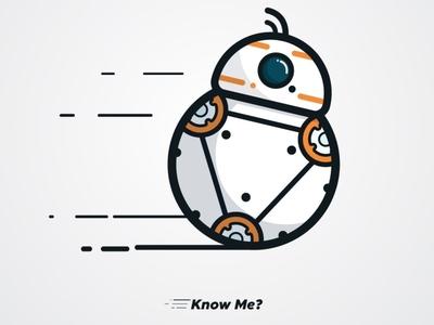 Robot illustration simple
