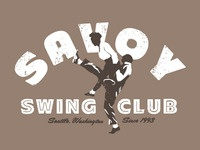 Savoy Swing Club T-shirt Concepts: 4
