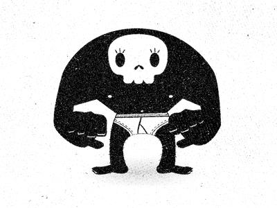 Illustration skull