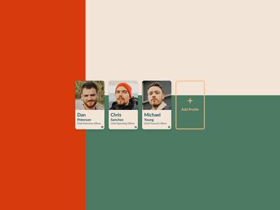 Profile Cards