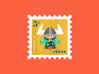 Head Hunters Club - JEVOK Stamp