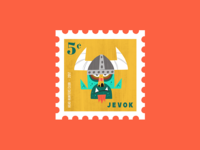 Head Hunters Club - JEVOK Stamp