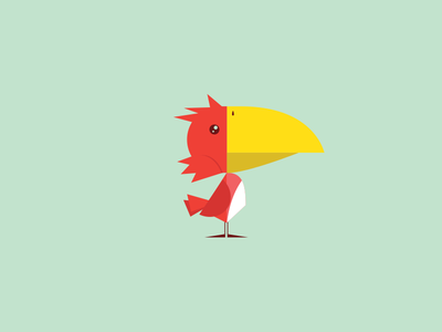 Deadly Bird vector croods bird deadly illustration junkykid