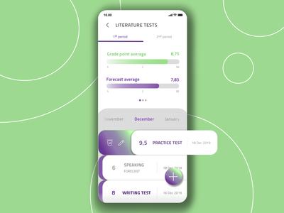 UX/UI Students app
