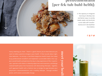 Perfectible Health | Website Concept