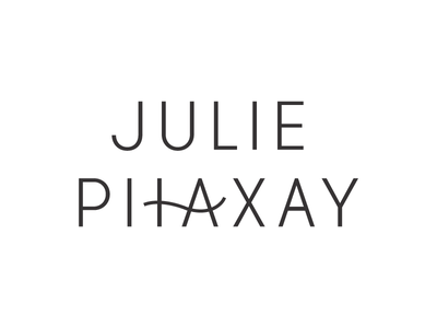 Julie Phaxay | Final Primary Logo letter manipulation modern simple typography logo identity branding