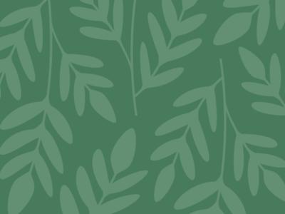 Misty Blue | Pattern Concept skincare identity branding green botanical leaves illustration pattern