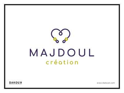 MAJDOUL création - Logo vector design branding logo illustration