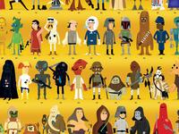 Star Wars - Compendium Poster