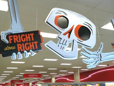 """""""Fright Done Right"""" - Target Halloween Campaign"""