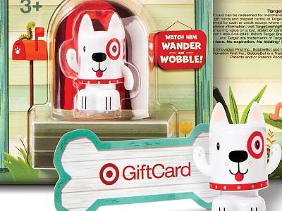 Bobblin Bullseye - GiftCard target illustration character bullseye giftcard