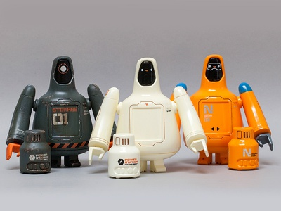 Freeman Robotics U-23 (Group) diorama character robot toy freeman robotics