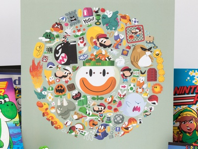 Mario Madness mario nintendo illustration character
