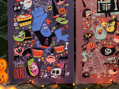Let's Ghoul Tonight! illustration halloween character