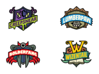 "Bear ""Super Species"" Logo Concepts"