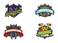 "Bear ""Super Species"" Logo Concepts logo illustration"