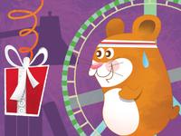 Target GiftCard - Hamster Wheel