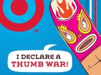 Target GiftCard - Thumb Wrestling