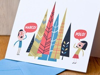 Marco! Polo! - Greeting Card
