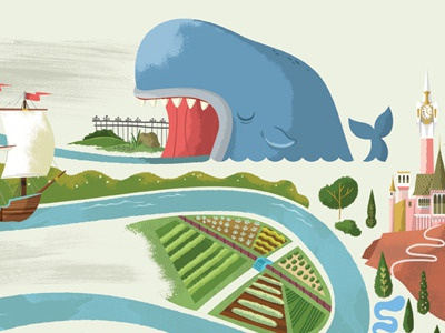 Storybook Land storybook disney monstro