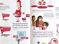 RED Magazine Editorial Illustrations