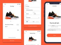 Mobile Payment Flow - Sneaker Culture