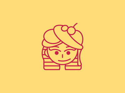 Сonfectioner's logo | Tory baking girl mascot logo mascot vector logotype logo идеи логотипа logo designs