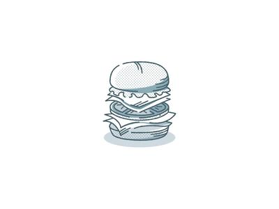 The Legend t-shirt food monochrome illustration vector design