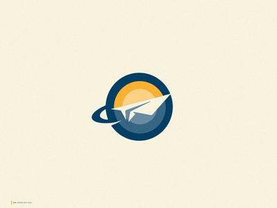Paperplane logo #02