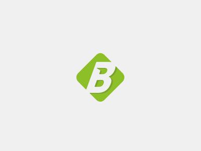 B Mark minimalistic simple inspiration design vector icon branding brandmark logo