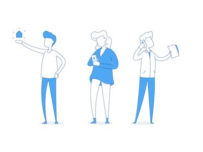 Website Illustrations for Till