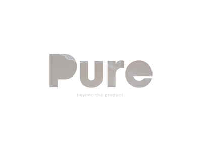 Pure Branding Exploration animation video colors minimal minimalistic identity system supplements branding logo