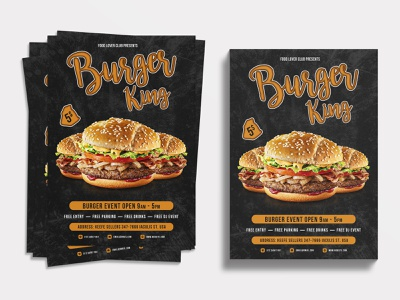 Food Flyer | Burger King flyers burger poster burger king flyer food poster flyer artwork design graphic design graphics burger logo restaurant flyer design restaurant flyer burger flyer burgers burger king food flyer design food flyer food flyer template flyer design flyer