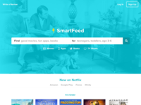SmartFeed - Better Content for Your Kids