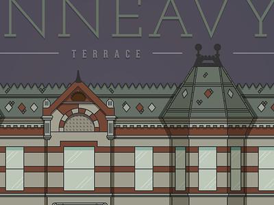 Building Study  landmark historic denver terrace kinneavy structure building