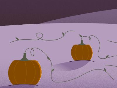 October Calendar Header illustrator calendar moon full pumpkins october halloween