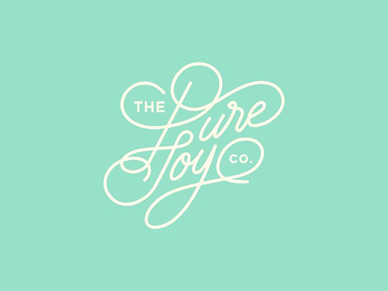 The pure joy co logo concepts v1 01