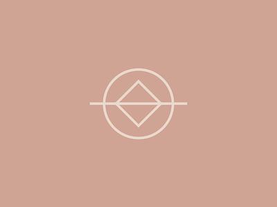 Portion Co icon circle minimal branding logo logo design