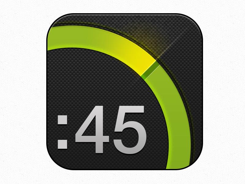 Extimer app icon rebound