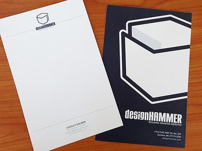 Notecards print logo cards business