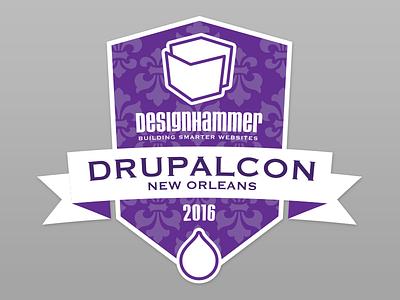 Drupalcon 2016 New Orleans purple drupalcon drupal