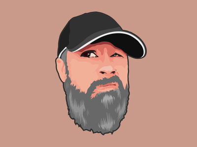 Self(ie) Portrait illustrator face self-portrait