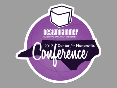 NC Center for Nonprofits Conference Sticker nonprofits conference sticker